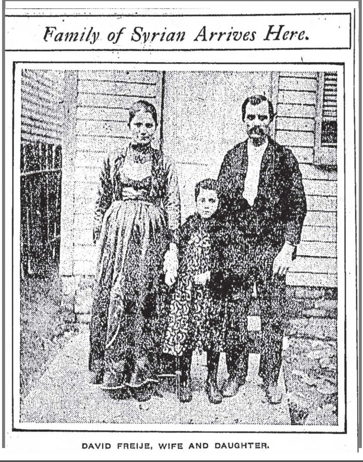 David Freije and Family